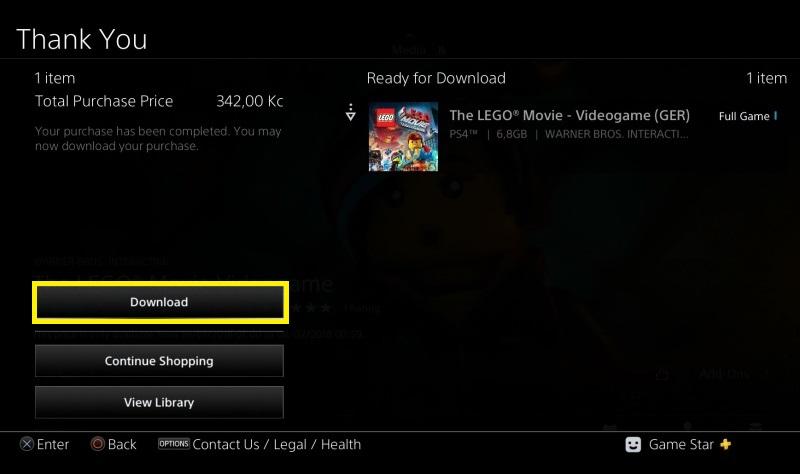 Jak koupit hru v PS Store 6