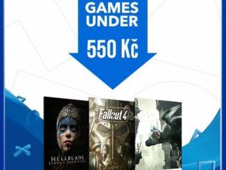 Levné hry na PS4 - deals under 550 kč