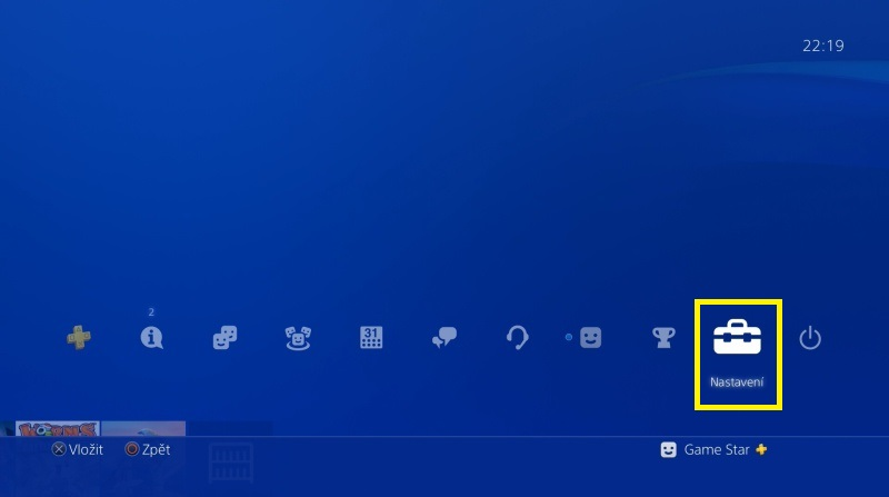 PS4 automatické přihlášení 1