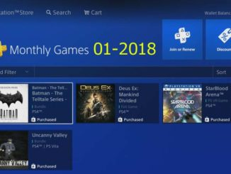 ps4 monthly games 01 - 2018