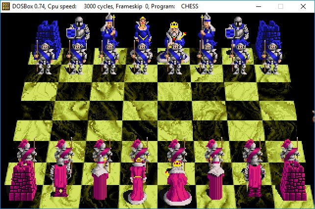 battle chess dosbox 2