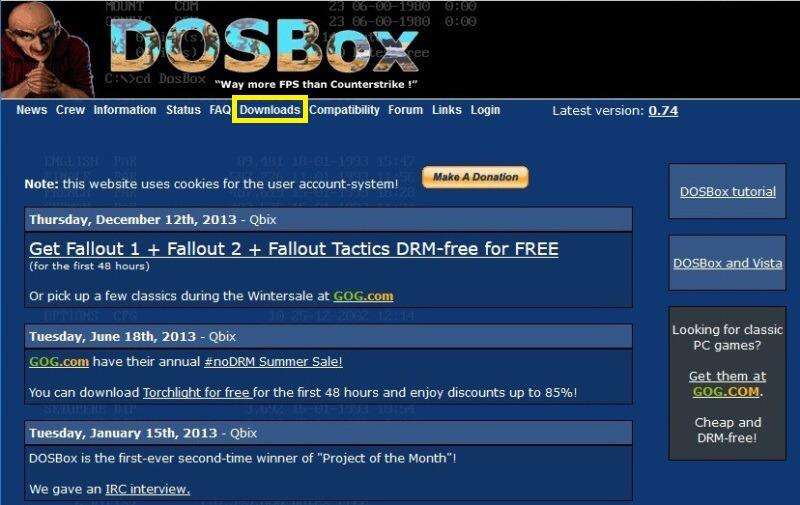 DOSBox - návod