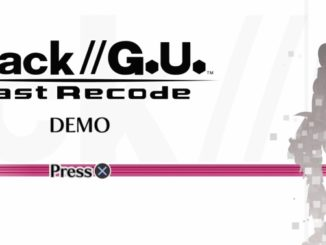 .hack//G.U. Last Recode PS4 demo gameplay