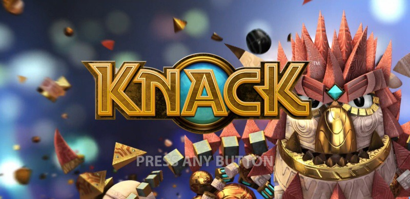 knack ps4 psplus gameplay
