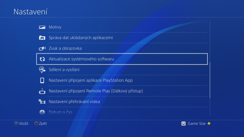 PS4 system software update 5.50 beta 04
