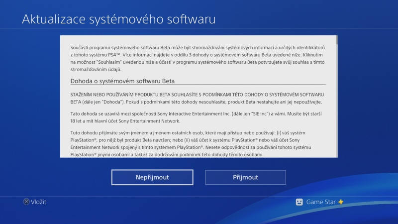 PS4 system software update 5.50 beta 09