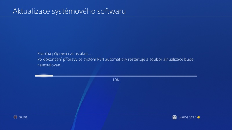 PS4 system software update 5.50 beta 12