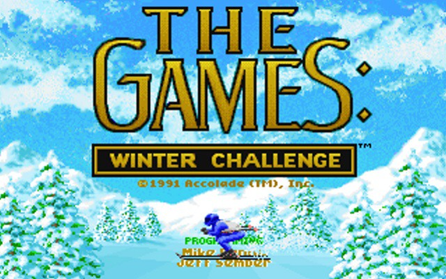 The games winter challenge 01