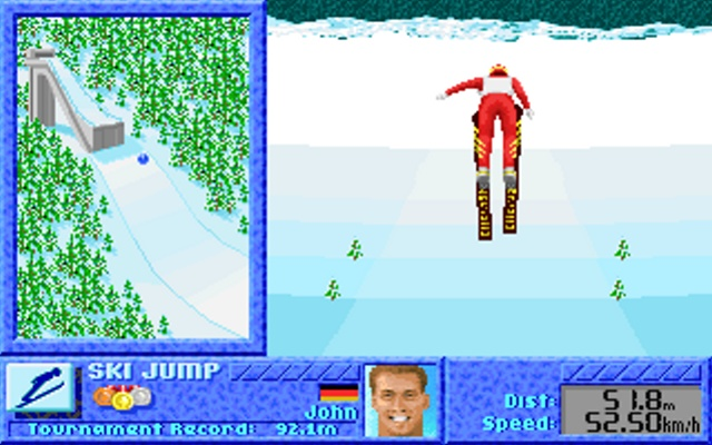 The games winter challenge 04