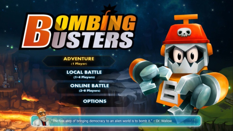 bombing busters ps4