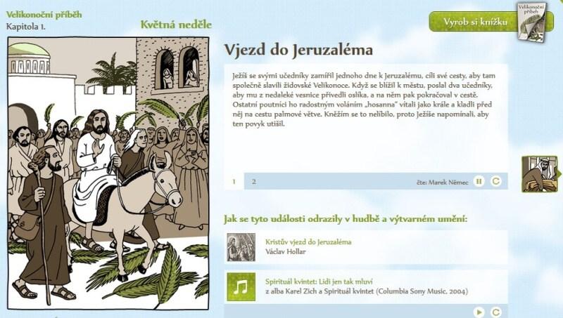 Čt Déčko velikonoční kalendář Česká televize 2