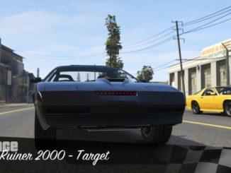 GTA Online: RACE: Ruiner 2000 - Target PS4