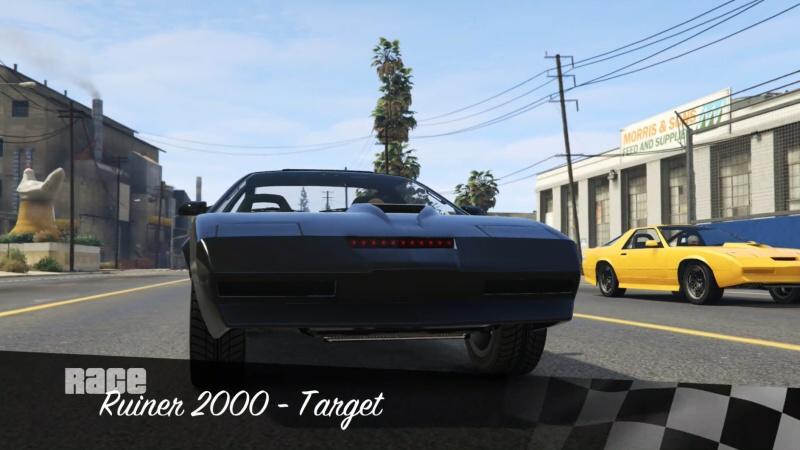 GTA Online: RACE: Ruiner 2000 – Target PS4