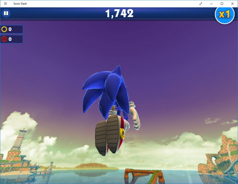 Sonic Dash PC - Windows 10 2
