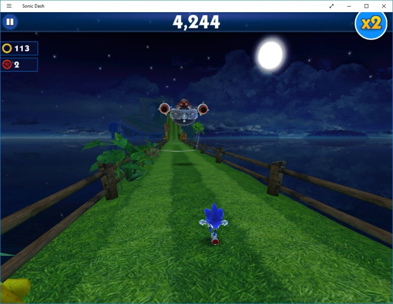 Sonic Dash PC - Windows 10 4