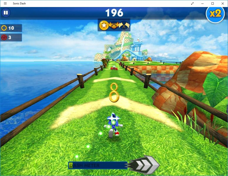 Sonic Dash PC – Windows 10 5