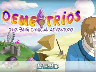Demetrios - The BIG Cynical Adventure PS4 demo