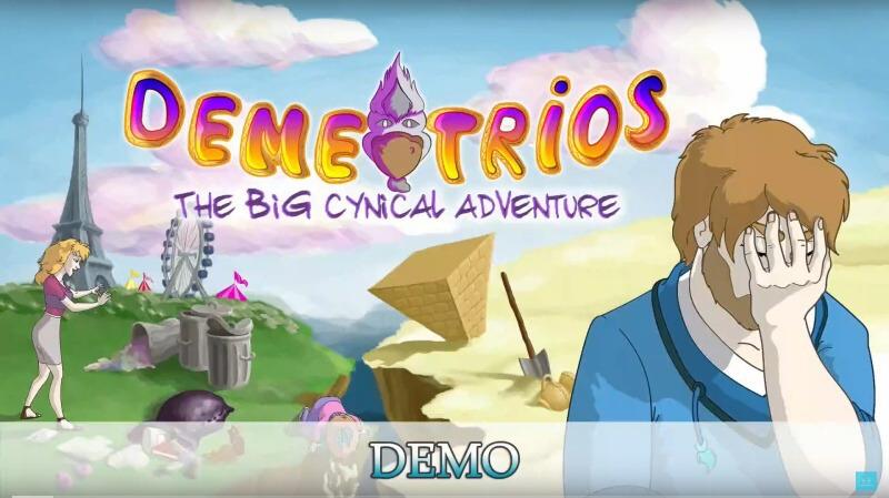 Demetrios – The BIG Cynical Adventure PS4 demo