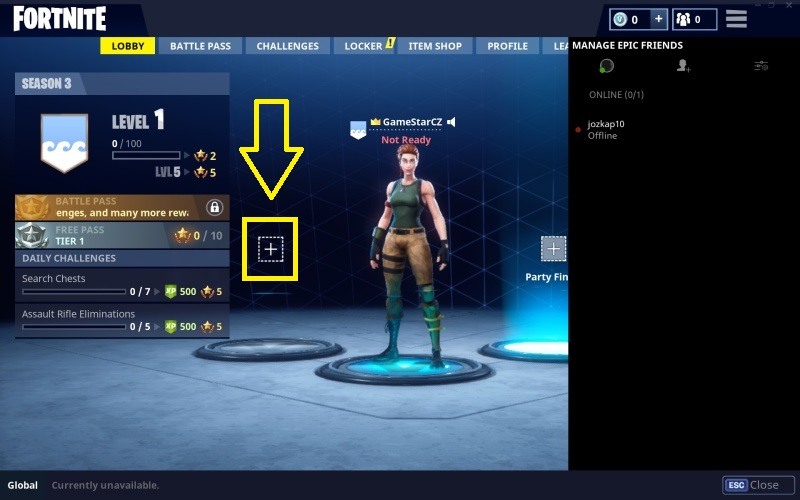 fortnite propojení pc – ps4 16