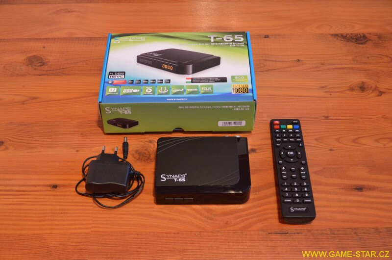 Synaps T-65 DVB-T2 HD set top box – recenze 03