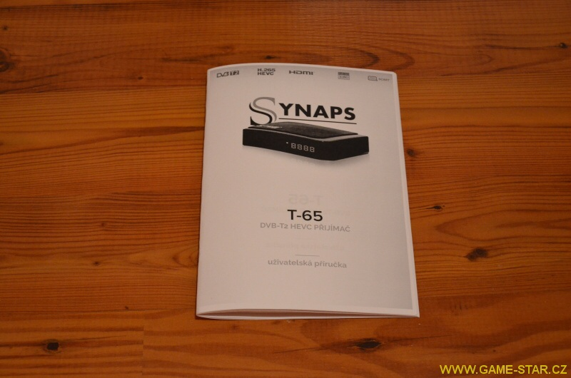 Synaps T-65 DVB-T2 HD set top box - recenze 04