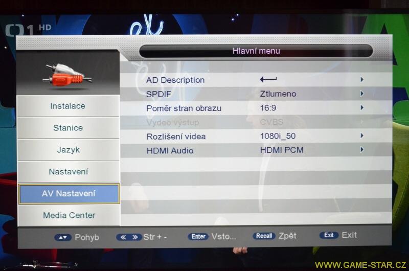Synaps T-65 DVB-T2 HD set top box – recenze 13