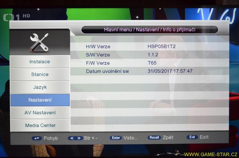 Synaps T-65 DVB-T2 HD set top box – recenze 18
