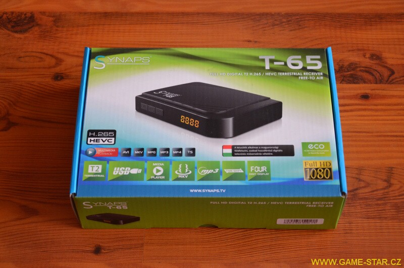 Synaps T-65 DVB-T2 HD set top box - recenze 23
