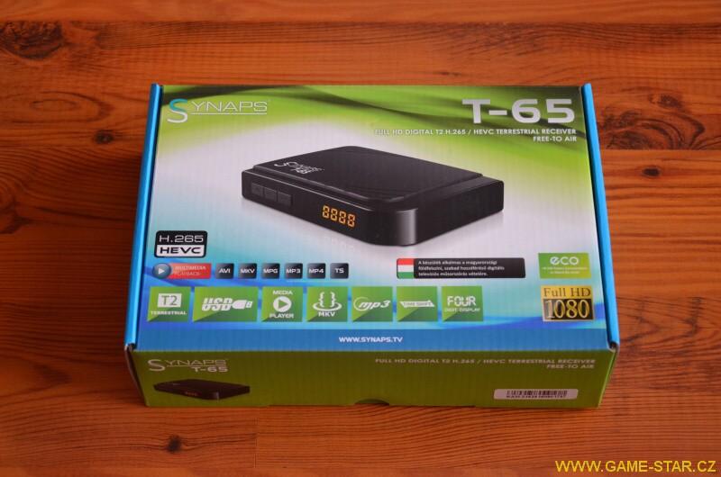 Synaps T-65 DVB-T2 HD set top box – recenze 23