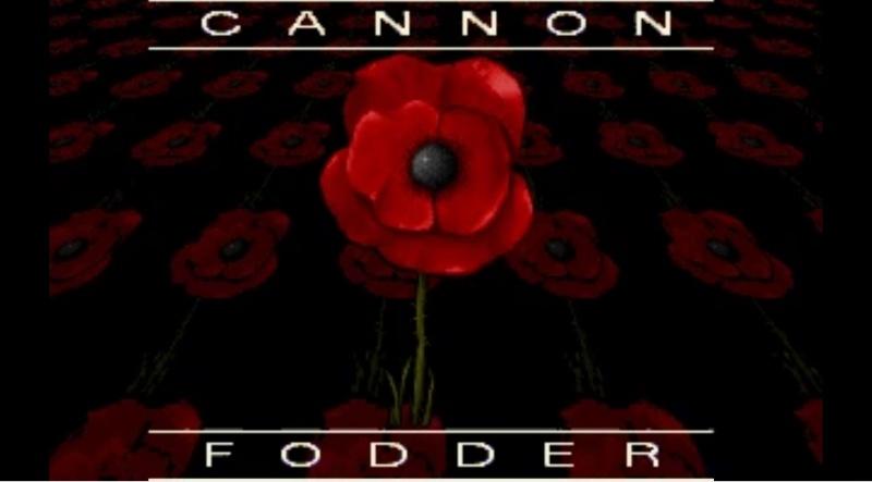 cannon fodder msdos pc game