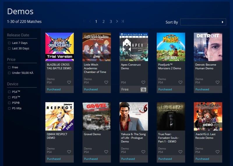Jak stahovat hry z PS Store na PC – 2
