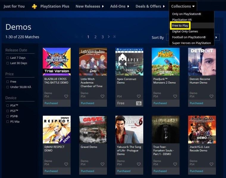 Jak stahovat hry z PS Store na PC - 3
