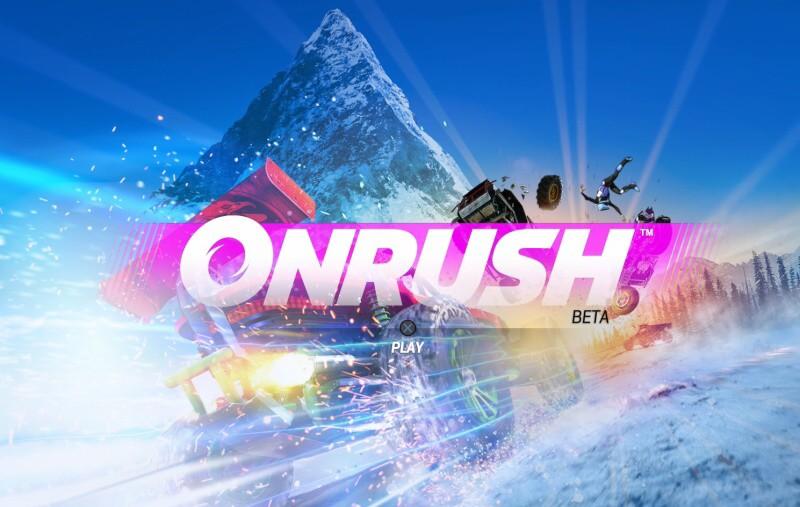 onrush ps4 beta
