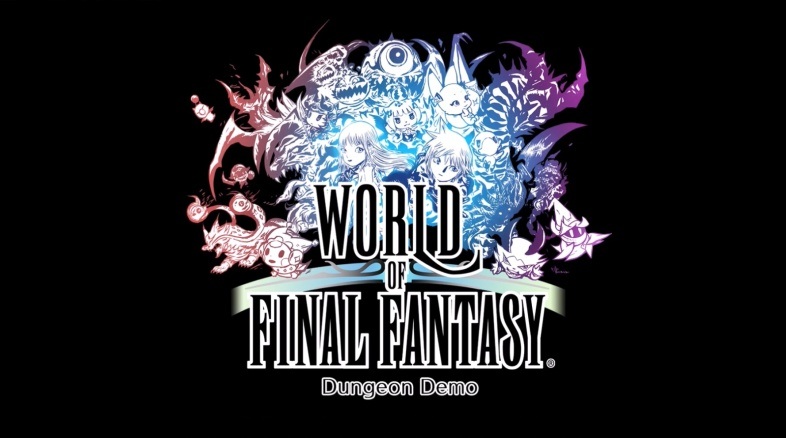 World of Final Fantasy Dungeon PS4 demo