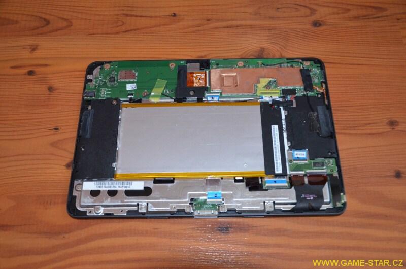 Jak vyměnit baterii v tabletu Asus Transformer Pad TF103C 2