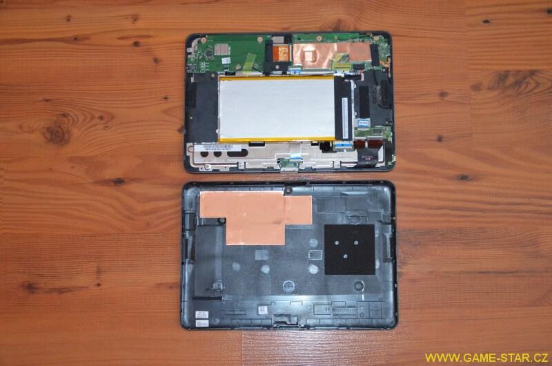 Jak vyměnit baterii v tabletu Asus Transformer Pad TF103C 3