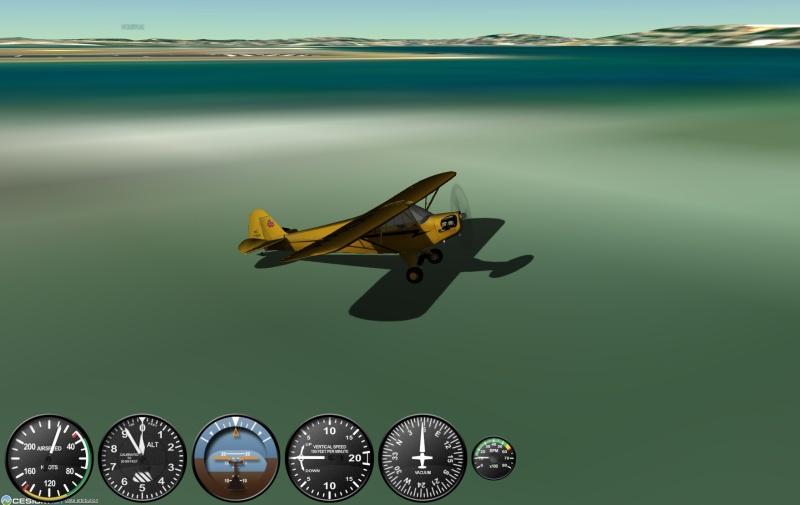 piper cub - gefs letecký simulátor