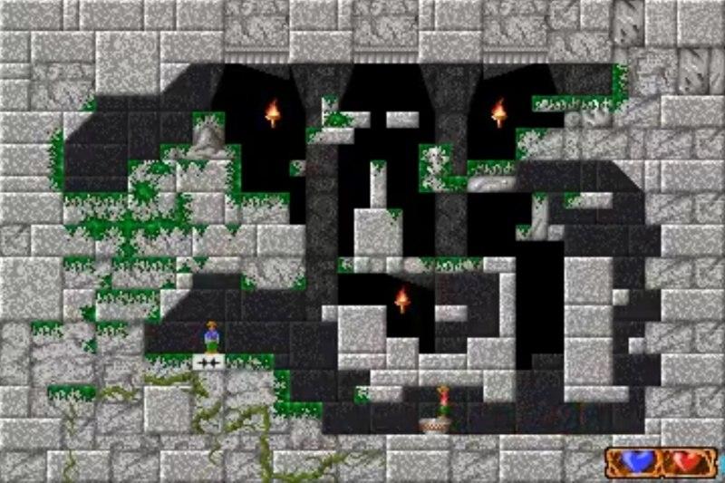 quadrax ms-dos pc game