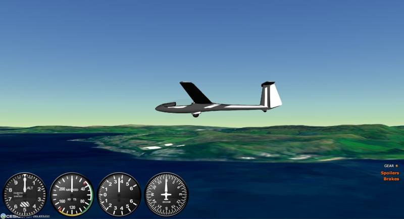 szd-48-3 jantar - gefs letecký simulátor