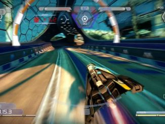 WipEout Omega Collection PS4 gameplay