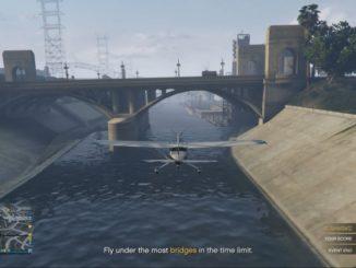 GTA ONLINE: Létání pod mosty v časovém limitu (PS4)