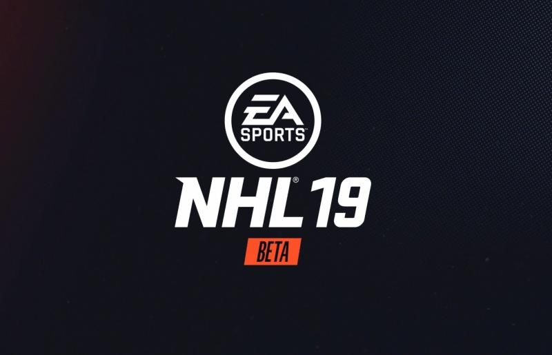 NHL 19 PS4 beta
