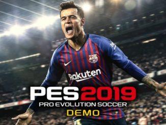 PES 2019 - Pro Evolution Soccer PS4 demo
