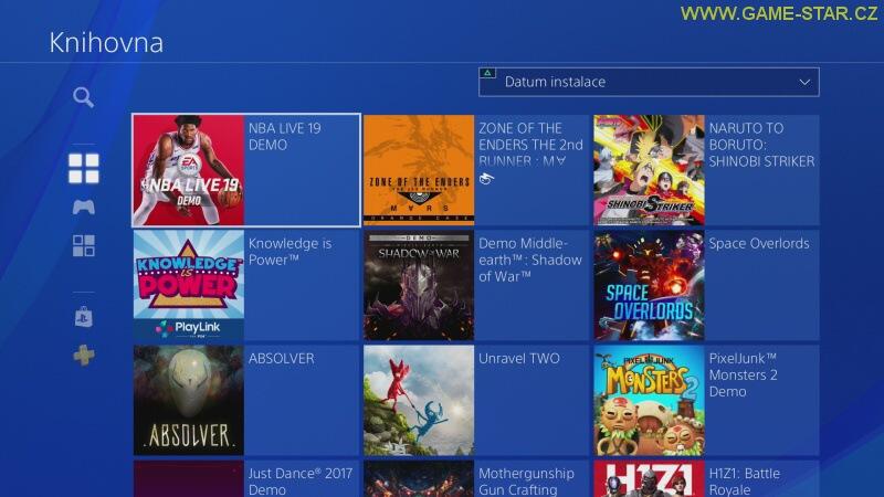 Jak odebrat hru z PS4 – cz návod 2