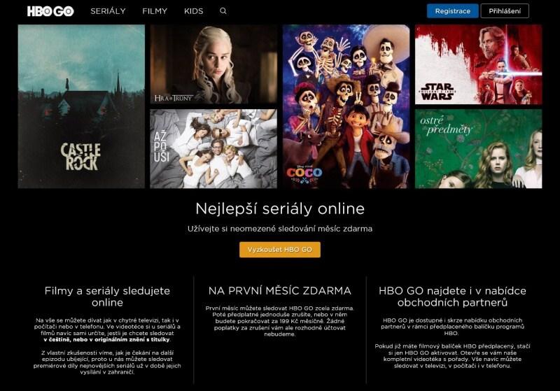 HBO GO zdarma