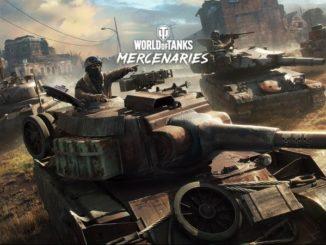 World of Tanks Mercenaries PS4