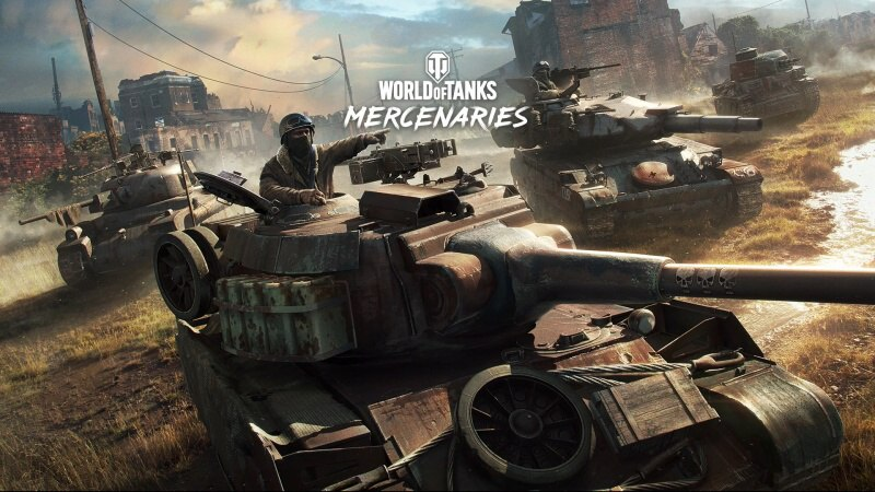 World of Tanks Mercenaries PS4