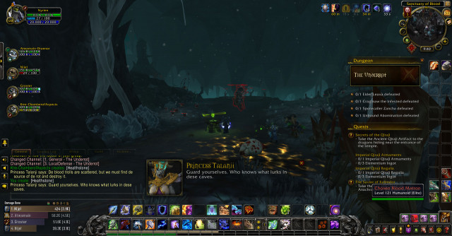 World of Warcraft Battle for Azeroth Underrot