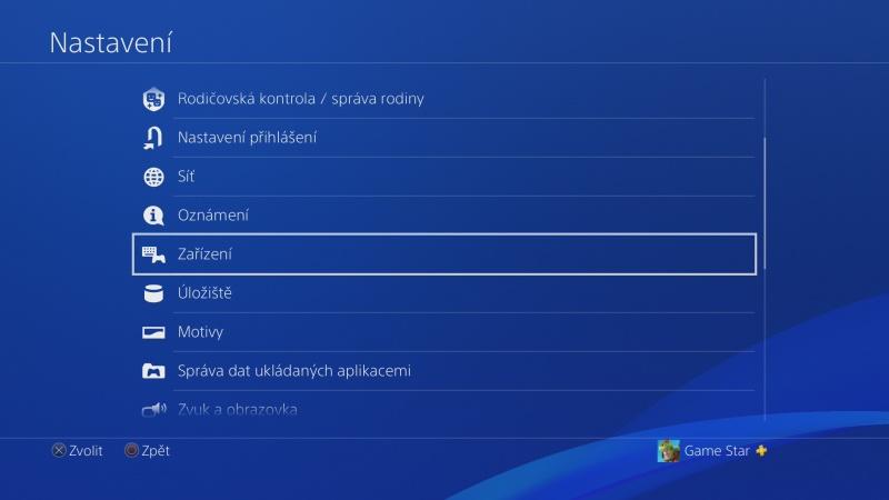 Klávesnice a myš na PS4. Návod na připojení 03