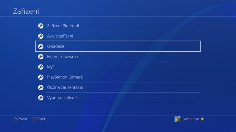 Klávesnice a myš na PS4. Návod na připojení 04